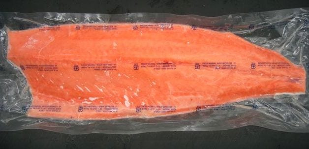 Flash Frozen Salmon
